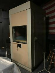 Industrial Acoustic Sound Booth Acoustical Audiology Hearing Test Iso Booth