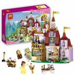 Figures Model Toys Beauty and The Beast Princess Belle's Enchanted Castle LEGO