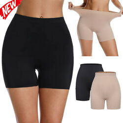 Women Seamless Soft Invisible Briefs Safety Short Panties Body Shaper Underwears $9.79