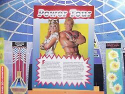 Vintage 1980's Masters of the Universe He-man SHE-RA POWER TOUR LIVE PHOTO *