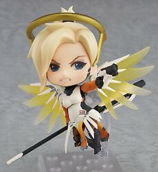 Nendoroid 790 Overwatch Mercy: Classic Skin Edition Figure Anime Toy