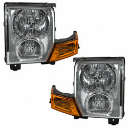 FITS FOR 2006 2007 2008 2009 2010 JEEP COMMANDER HEADLIGHTS PAIR RIGHT  $116.40