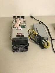 Antminer s9 13.5TH with APW3 PSU and Power Cable $495.00