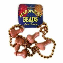Bachelorette Party Girls Night Out Wild Theme Party Favor Penis Bead Necklace $8.66