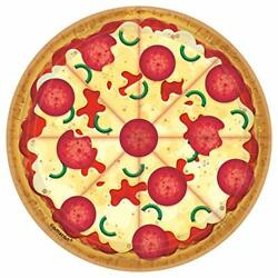 Pizza Party Food Kitchen Theme Kids Birthday Party 7quot; Paper Dessert Plates $6.17