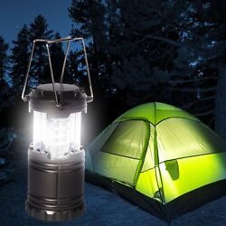 30LED Outdoor Camping Light Portable Tent Collapsible Lamp Lantern Hiking Garden