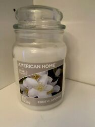American Home by Yankee Candle Exotic Jasmine Jar with Lid 19oz