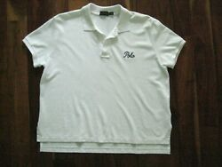 Women's POLO Ralph Lauren Large Cropped White ss 100% Cotton Polo Shirt NWOT