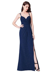 Ever-Pretty US Long Celebrity Bridesmaid Evening Gowns Cocktail Dresses Sequins
