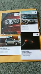2014 BMW X3  OWNERS MANUAL & CASE (NAVIGATION & QUICK REF  SERV)