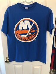 New York Islanders Logo Shirt Size Medium Gildan