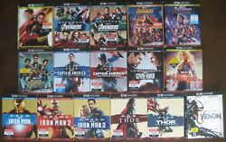 MARVEL 4K SLIPCOVER ANT-MAN AVENGERS BLACK PANTHER CAPTAIN AMERICA IRON MAN THOR