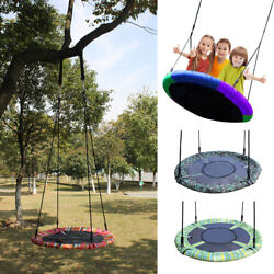 Tree Swing Giant 40quot; Saucer SwingRound Platform Swing Easy to Install $47.99