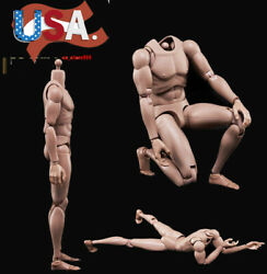 US 16 MX02-A Europe Skin Male Figure Body Model Toy For 12