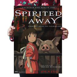 Spirited Away Japanese Anime A Voyage of Chihiro paper bedroom decor $15.99