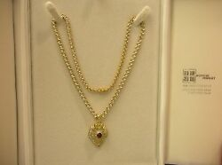 Diamond and Ruby Necklace (Removable Pendant) 20