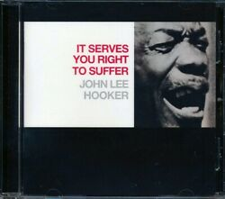 SEALED NEW CD John Lee Hooker - It Serves You Right To Suffer