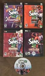 The Sims 2 PC & 4 Expansion Pack Lot! Free Time Nightlife Seasons Open Business