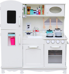 Play Kitchen for Toddlers – Kitchen Toys Playset for Kids – Pretend Play Cooking $215.21