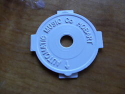 1 x WHITE RECORD ADAPTER DINKED CENTRE 45 rpm 7