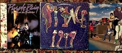 Prince - Lot Of 3 - Vinyl LP Purple Rain 1999 Around The World In A Day- VG+