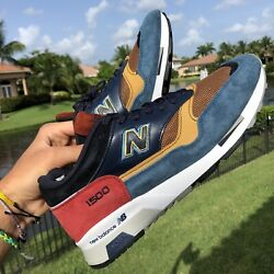 RARE New Balance Made In England Samples Multi Color Size 9.5