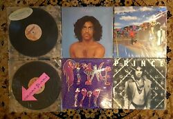 6 Prince LP Vintage Vinyl Lot 1999 Dirty Mind Around World Glam Slam Alphabet +