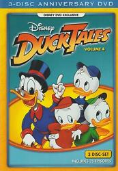 NEW SEALED Disney DuckTales volume 4 DVD - Movie Club Exclusive - FREE SHIPPING