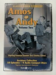 AMOS 'N' ANDY: Volume TWO (Old Time Radio Archives 9 Audio CD Set 18 Episodes)