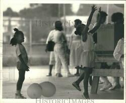 1988 Press Photo Children Playing at Urban League Family Day at Kirk Park