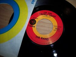 VG+ The Band Up On Cripple Creek  Night They Drove Old Dixie 45RPM wppr slv
