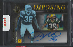 LeRoy Butler 2019 Majestic Imposing Signatures On Card AUTO (0210) GB Packers