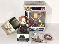 Funko Pop! IT Pennywise Hot Topic Exclusive box by piece