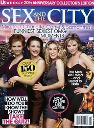 SEX AND THE CITY COLLECTOR'S EDITION MAGAZINE 2019 Us WEEKLY BRAND NEW