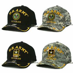 U.S. ARMY VETERAN Hat Cap Military Official Licensed Embroidered Baseball Cap $13.85