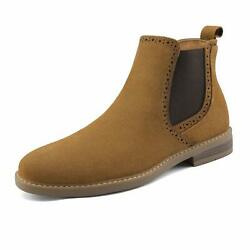 Bruno Marc US Men's Suede Leather Casual Dress Ankle Chukka Chelsea Boots Shoes $28.55