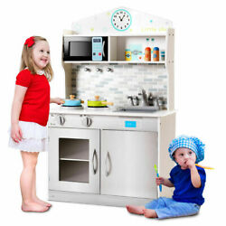 Pretend Cooking Playset Indoor Play Game Equipment Kid Toys Cookware Kitchen