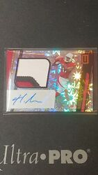 2019 Unparalleled 3-color Rookie Patch Autograph Hakeem Butler RPA #3675.