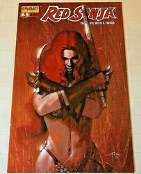 RED SONJA #3 SHE DEVIL WITH A SWORD DELL'OTTO VARIANT COVER A   2005  HTF  NM-