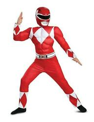Power Rangers - Classic Red Ranger Child Muscle Costume
