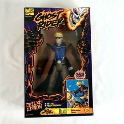 Toy Biz Ghost Rider Deluxe Edition Marvel Blaze Action Figure 10