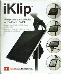 IK Multimedia iKlip Microphone stand adapter for iPad and iPad 2