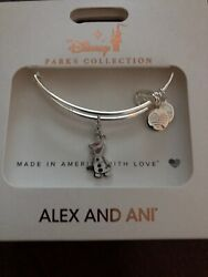 Disney Alex And Ani 2019 Frozen 2 Olaf Bangle Bracelet