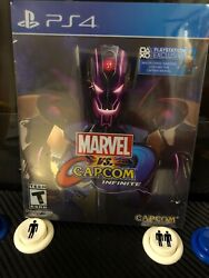 New Marvel vs. Capcom Infinite Deluxe Edition PlayStation 4 2017 Steelbook PS4