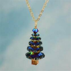 Charm Christmas Tree Pendant Necklace Women Girls Cute Fashion Jewelry Gifts