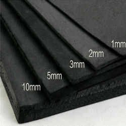 50x100cm EVA Foam Sheet Black Cosplay Model DIY Craft Supply 3510mm US