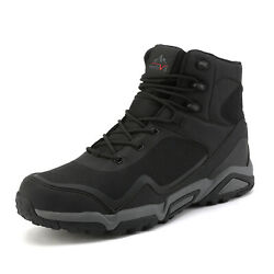 NORTIV 8 Men#x27;s Winter Snow Boots Outdoor Waterproof Ankle Hiking Work Shoes US $41.75