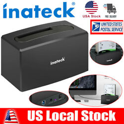 Inateck USB 3.0 SATA 2.5quot; 3.5quot; HDD SDD Single Bay Hard Drive Docking Station US $23.99