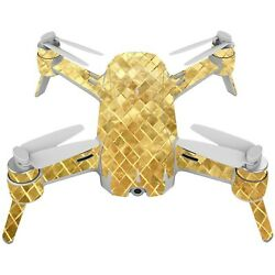 MightySkins Skin Compatible with Yuneec Breeze 4K Drone – Golden Locks  Prot...