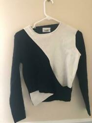 Blessed are the Meek blackwhite sweater size S NWT